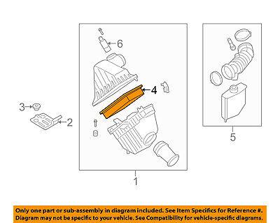 FORD OEM Engine-Air Filter Element 4L3Z9601BA