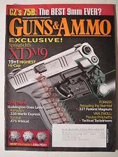 Guns & Ammo Magazine. February 2009. Springfield XDM9/ .475 Wildcat/ Marlin .22