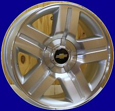 2000-2017 Chevy Z71 Silverado LTZ Texas Machine Silver 20 In Wheels Rims