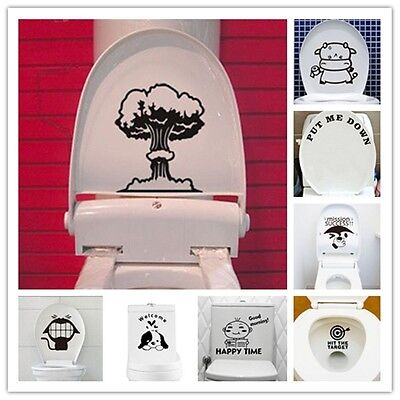 Utiliser la force Toilette Mural Art Autocollant Vinyle Transfert Graphic Decal Home Decor UK