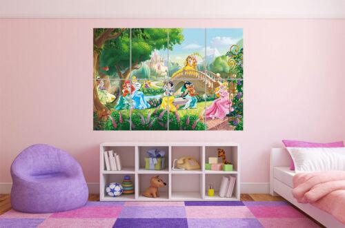 Princess Castle Disney Poster Grand Format A0 Large Print