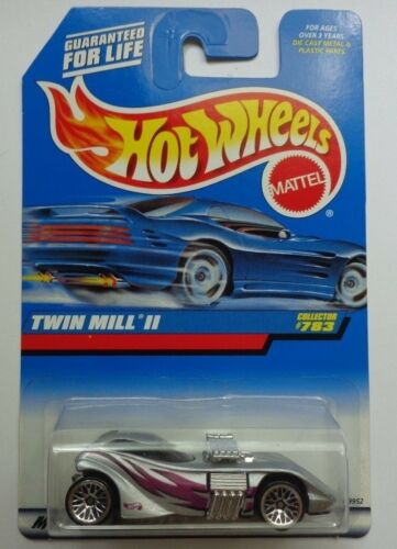 1998 Hot Wheels Twin Mill II Col Silver Version #783