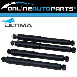 Set-of-4-Gas-Shock-Absorbers-Raised-Coil-Spring-Jimny-4wd-1998-2017-Front-Rear