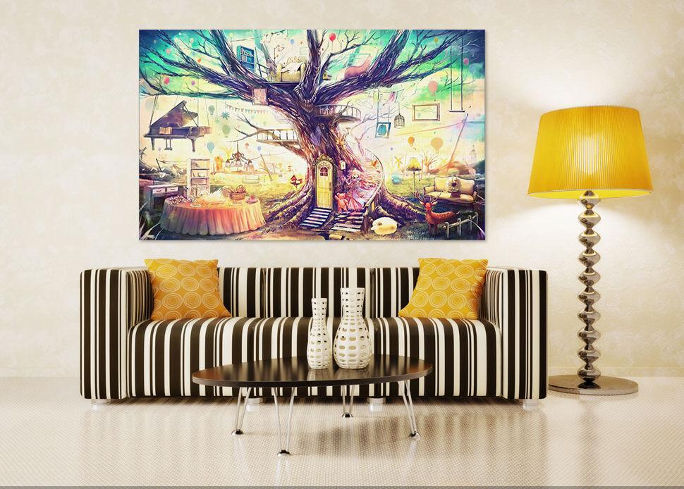 3D Farbe Bäume Klavier Hirsch 9 Fototapeten Wandbild BildTapete AJSTORE DE Lemon | Große Klassifizierung  | Sale Düsseldorf  | Clever und praktisch