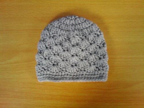 Handmade hand crocheted Baby Fleur//Unisexe Bonnet 100/% acrylique var CLO