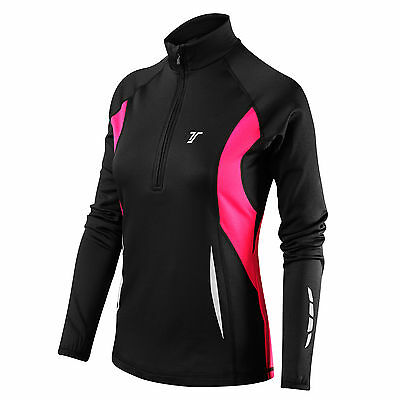 Thorogood Sports Women's Winter Run Half-Zip Long Sleeve Running / Training Top