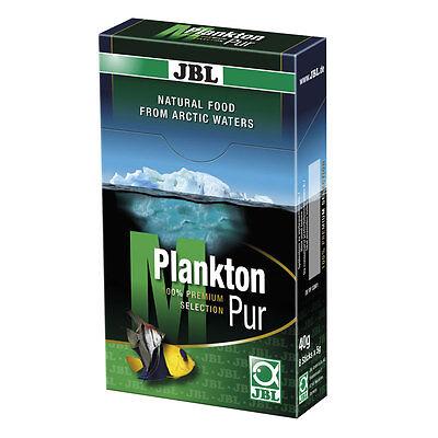 Jbl Planktonpur M 8 X5g-fresca Puro Plancton-pesce Mangime Cibo Pesci-