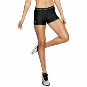 Under-Armour-1309618-Women-039-s-HeatGear-Armour-Shorty-Athletic-Training-Gym-Shorts