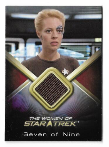 The Women of Star Trek 50th Anniversary WCC27 Seven of Nine Costume Card