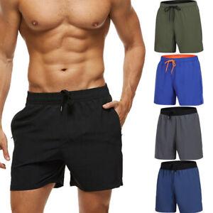 Mens-Swimming-Shorts-Casual-Quick-Dry-Beach-Boys-Summer-Swimwear-Trunks-Shorts