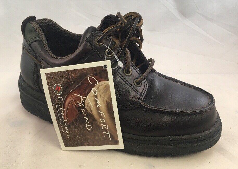 Mens DEFECTIVE Carolina Steel Toe Works shoes 4141