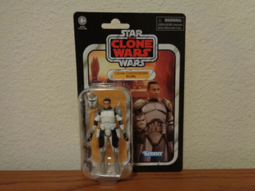 Star Wars Clone Commander Wolffe VC168 Clone Wars Vintage Collection Figure