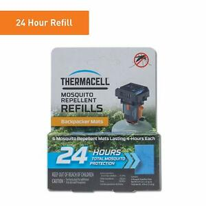 Thermacell Backpacker Refill Pack Mosquito /& Midge Repellent Mat 12 Pack camping