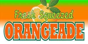 ORANGEADE-ORANGE-ADE-DRINK-VINYL-HORIZONTAL-BANNERS-CHOOSE-A-SIZE-CARNIVAL