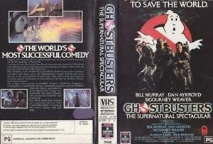 GHOSTBUSTERS-supernatural-spectacular-RCA-VHS-VIDEO-PAL-A-RARE-FIND