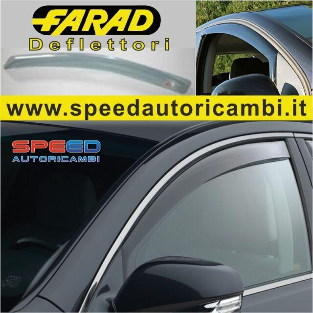 Deflettori  Fiat Grande Punto dal 2005>   3 porte mini deflector farad fumè