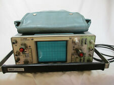 Tektronix 465 Oscilloscope Machine With Cables And Bag