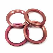 Centric Rings 63.36mm Hub to 73.00mm Wheel//Rim Set 4 Aluminum Metal