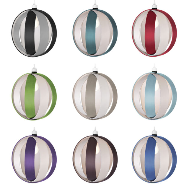 Modern Ceiling Pendant Light Lamp Shades Lampshades Black Red Green Purple Blue