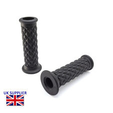 Bike It Black Streetfighter Style Motorcycle Pair Grips Fits To 7//8/""