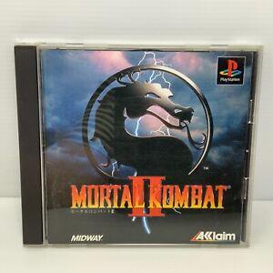 Mortal Kombat Ii 2-NTSC-J-Playstation 1 PS1 libre de gastos de envío seguimiento!
