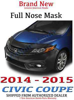 Honda Genuine Accessories 08P35-TS8-100 Full Nose Mask for Select Civic Models