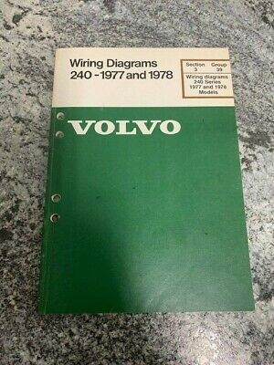 1978 1977 Volvo 240 Wiring Diagram Electrical Factory Shop ...