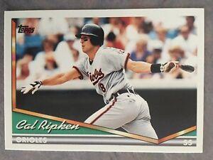 Details About 1994 Topps Baseball Card 200 Cal Ripken Jr Baltimore Orioles Nmmt Mt