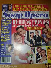 SOAP OPERA MAGAZINE 1997 Louise Sorel Roscoe Born Martha Byrne Kin Shriner