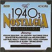1940's Nostalgia Collection, Various Artists CD | 5014293394727 | Good