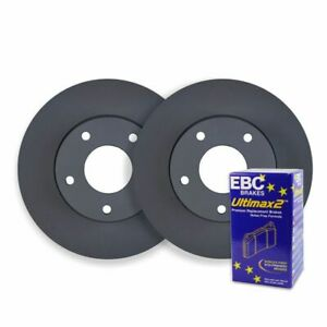 FRONT BRAKE ROTORS + PADS for Peugeot 207 XT Touring HDI 1.6TD 11/2007-11/2009