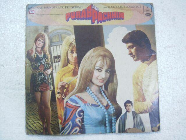 PURAB AUR PACHHIM 2 lp killer psych funk KALYANJI ANANDJI 1971 LP BOLLYWOOD VG