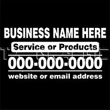 Large Custom Business Welcome Sign Vinyl Decal Sticker Window Door - Large custom window decals for business