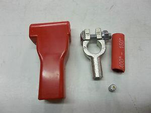 Replacement Solder on 1//0 Gauge Battery Terminals  Solder Pellet  Shrink Tube