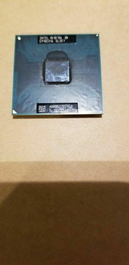 CB61 SLGF4 GENUINE INTEL CORE 2 DUO 2.1GHZ T6500 LAPTOP CPU SOCKET P