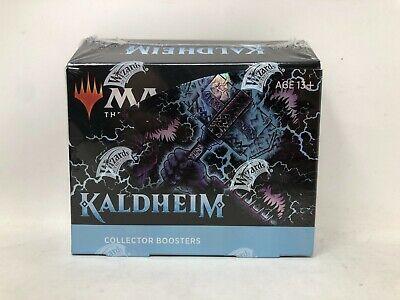 12 Packs Magic The Gathering Kaldheim Collector Booster Box 180 Magic Cards