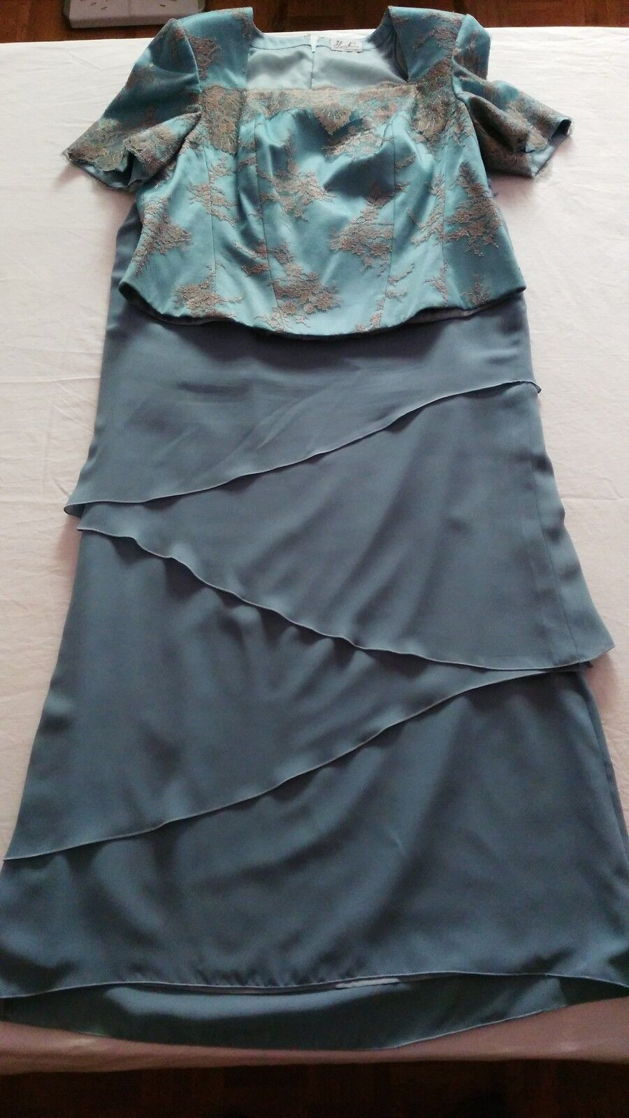 Dress de Godmother Size 50 Luxury Special Wedding only A Use Offer