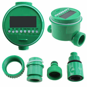 Electronic LCD WATER TIMER GARDEN PLANT AUTOMATIC WATERING IRRIGATION SYSTEM - Ely, Cambridgeshire, United Kingdom - Electronic LCD WATER TIMER GARDEN PLANT AUTOMATIC WATERING IRRIGATION SYSTEM - Ely, Cambridgeshire, United Kingdom