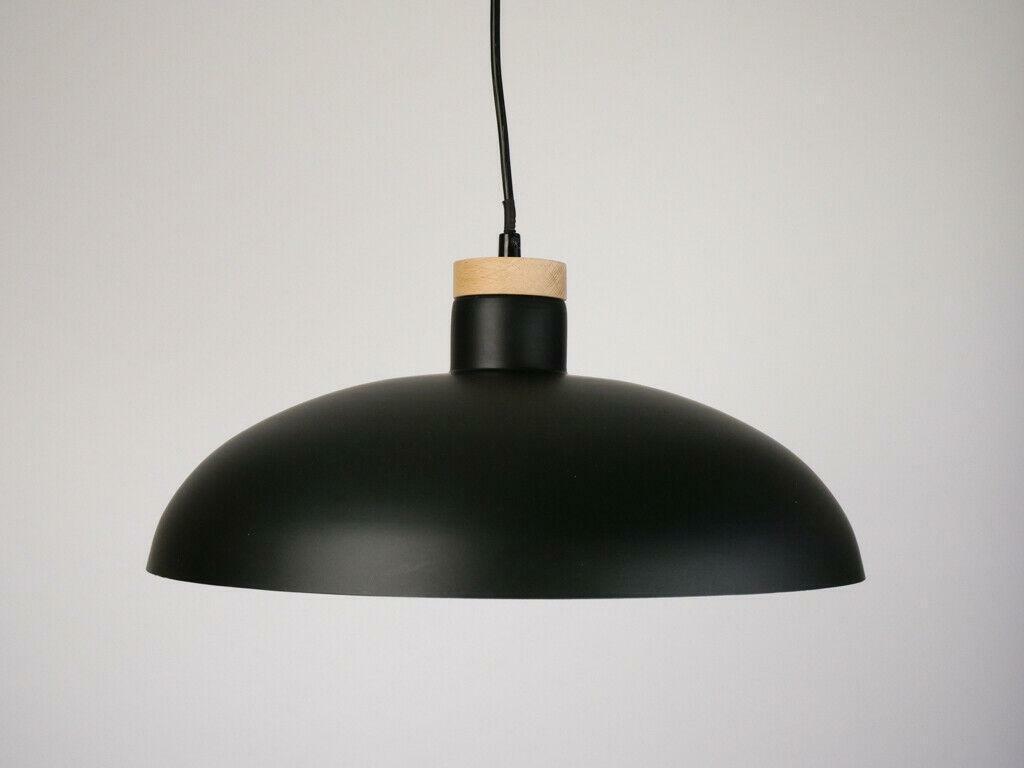 Kavehome  GOTRAM  Pendelleuchte Lampe schwarz Wohnzimmer Küche