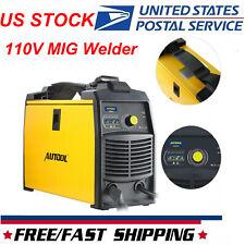 Mig Welder Inverter 110v Flux Core Wire Gasless Automatic Feed Welding Machine