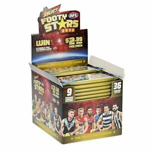 2020-AFL-AFLW-SELECT-FOOTY-STARS-TRADING-CARDS-FACTORY-SEALED-HOBBY-BOX-IN-STOCK