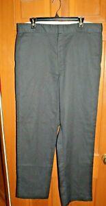 Dickies-Men-039-s-Original-Workwear-874-Utility-Black-Work-Pants-38-x-34-EUC