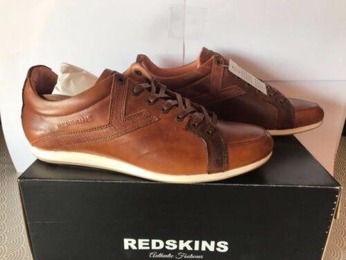 Chaussures Redskins Cuir En Homme Cognac aqZwCH0