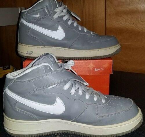 10 1 5 One y Vtg Tama con Force blanco estuche Nike medio 2002 Gris original Air o w1cF7Rq