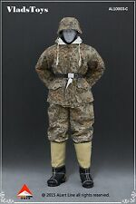 Alert Line 1:6 German Snow Reversible Cotton Padded Jacket in Oak Leaf AL-10003C