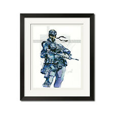 Metal Gear Solid Foxhound Legend Solid Snake Poster Print