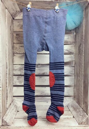 Baby Boy Cotton Tights Pants Double Anti Slip ABS Sole Crawling Knee Rubberised