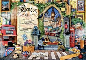 "Puzzle 2000 pieces 96*68cm ""London. Life is an open book"". Step Puzzle 84033"