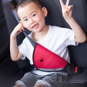 Kinder Baby Sicherheitsgurt Fixierer Gurtpolster Einsteller Auto Gurtschutz Rot