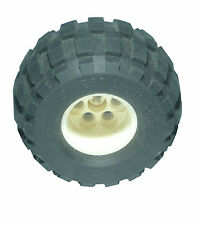 Missing Lego Brick 2995 & 2996 Black Tyre & White Wheel 68.8 x 40 Q Balloon Larg